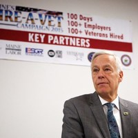 LePage, Michaud find common ground: Jobs for Maine veterans