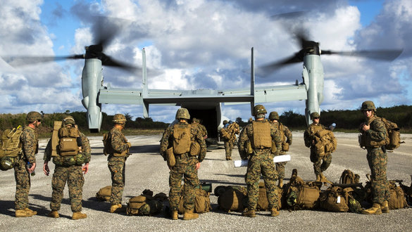 'Keep up the Good Fight,' Apache Pilot Advises Deployed Service Members