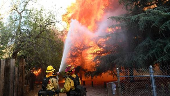 Air Force Firefighters Stand Ready to Respond to Emergencies