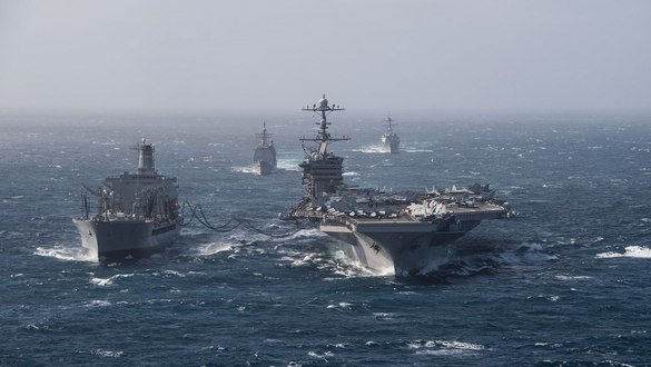US Navy supercarrier John C. Stennis is headed for a complex overhaul