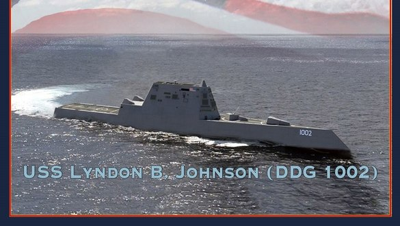 The US Navy's last stealth destroyer is in the water