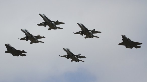 F-35 fighters arrive on Australian soil