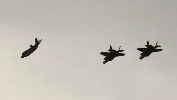 Three nations stage F-35 drills over southern Italy