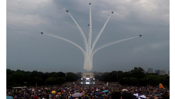 See the military platforms at the July 4th parade