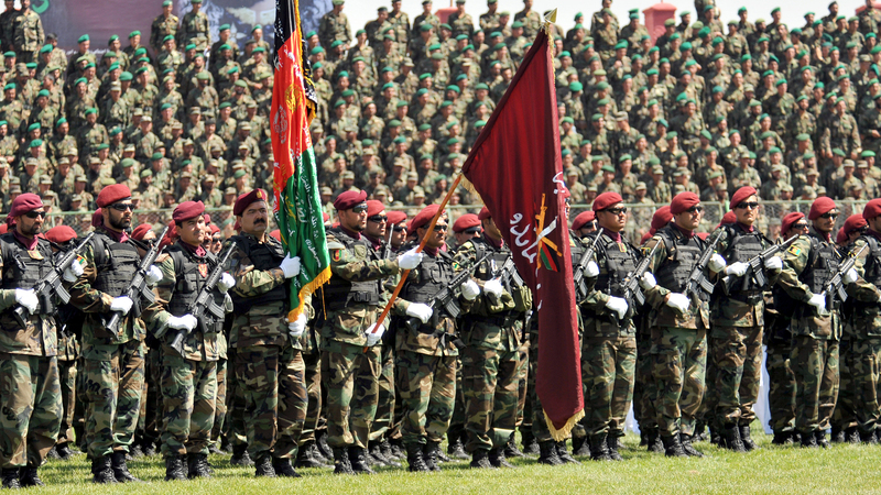 Afghan National Army: Twenty Years of Investment Disintegrating in Six Months