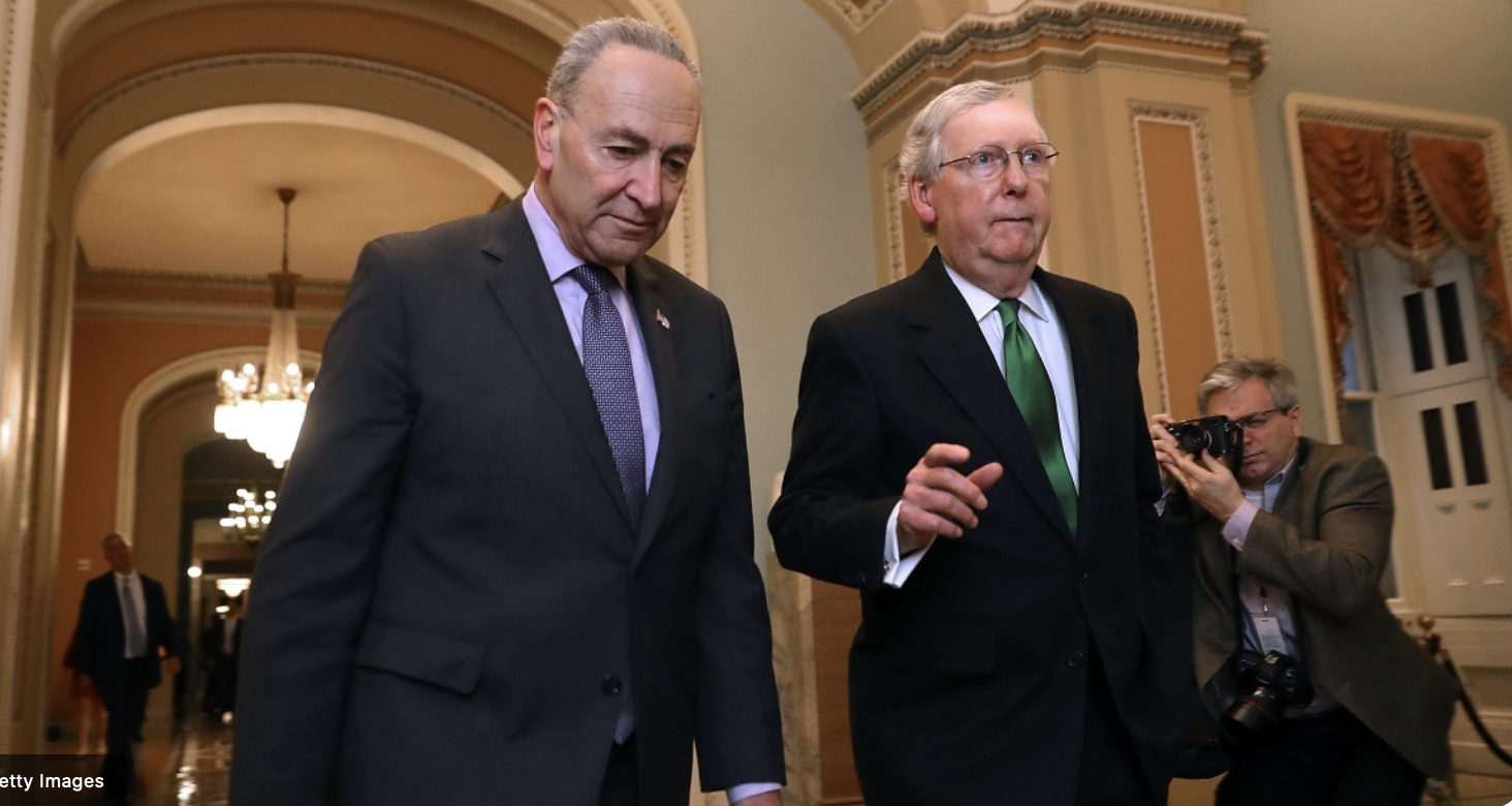 Mitch McConnell Caves, Makes Deal With Schumer on Temporary Debt Ceiling Increase