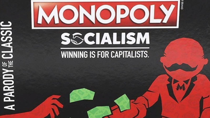 Guess who's not happy about 'Monopoly: Socialism' game