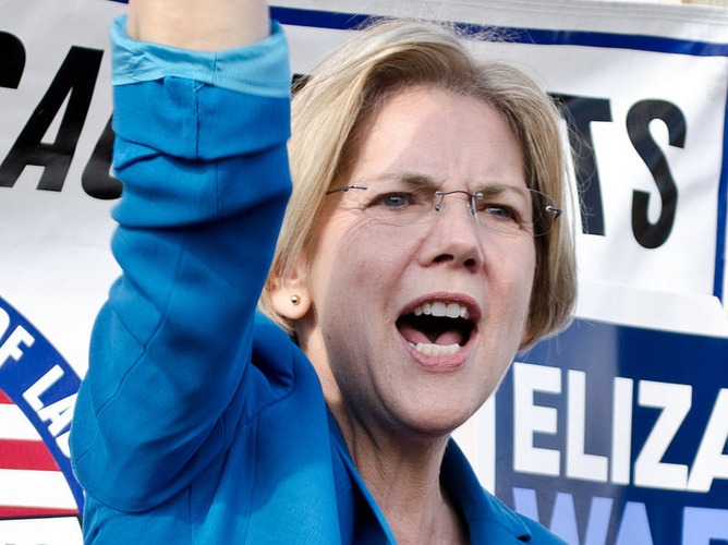 Elizabeth Warren takes aim at successful Americans