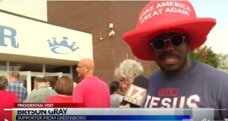 NC man rebelled when told he should not support Trump