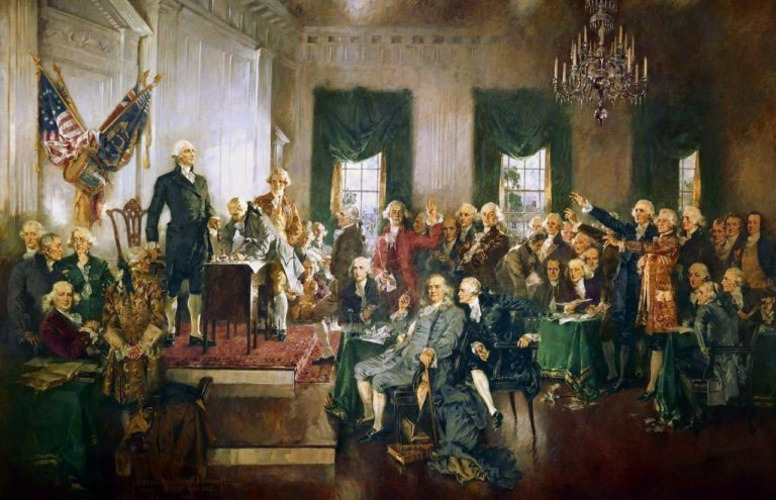Constitution Day:  39 men who changed the world