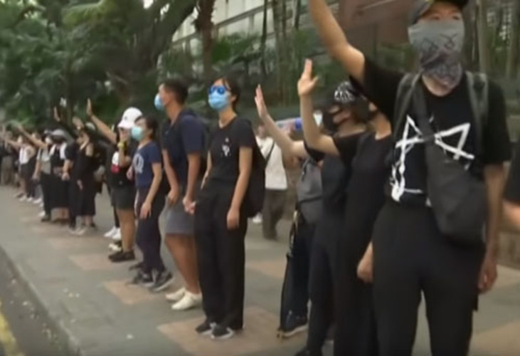 4-month-old standoff: Hong Kong protesters writing wills