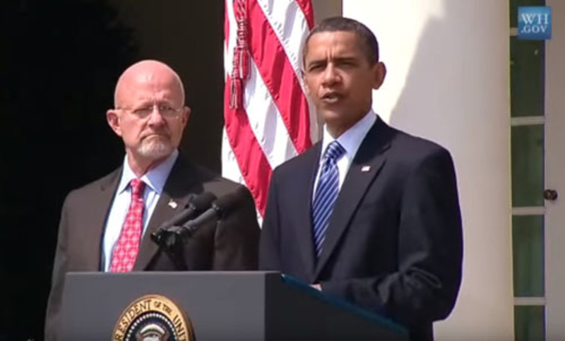 Clapper: We only did 'what we were told to' by Obama