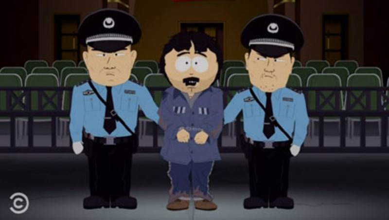 Banned 'South Park' lampoons both China and NBA