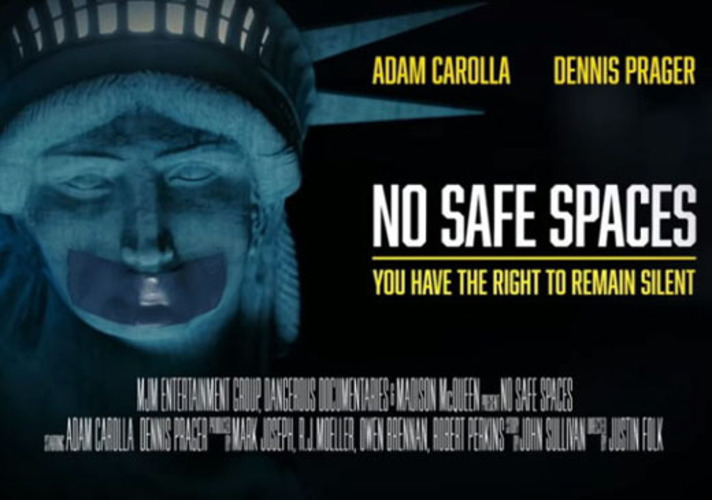 Free speech documentary shows 'how nuts it is out there'