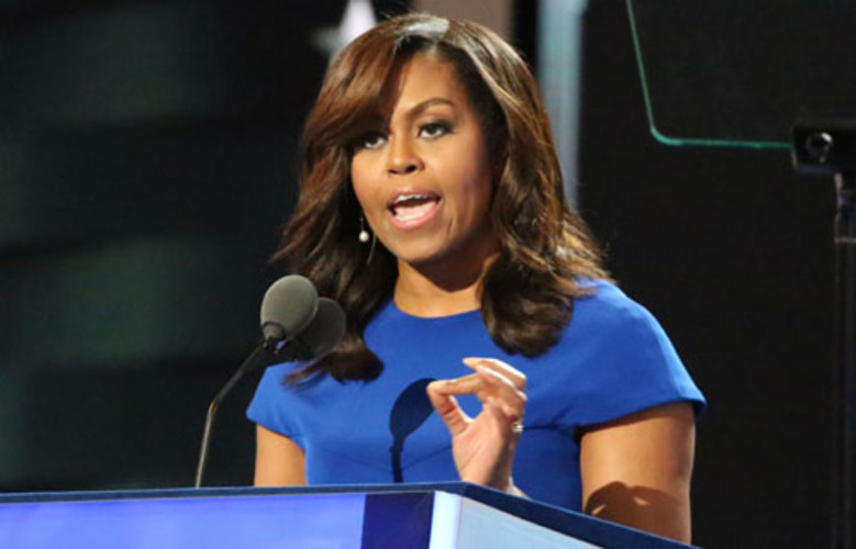 Michelle Obama laments 'white flight' from  hometown