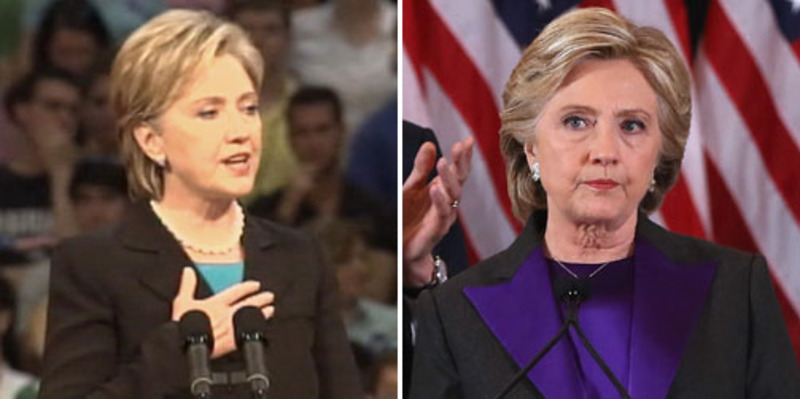 Hillary: 'As I say, never, never, never say never'