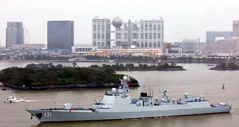 China building warships at twice U.S. rate