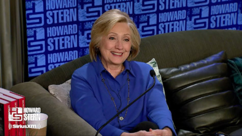 Hillary comes out? 'I was popular' and  I 'like men'
