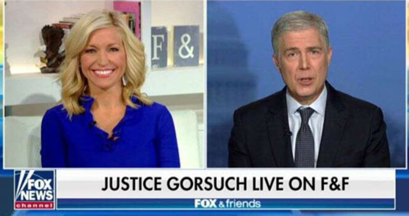 Two words from Justice Gorsuch causes twitterquake