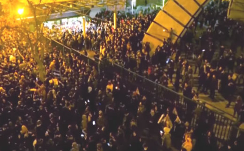 'The United States is watching': Iran protests in day 3