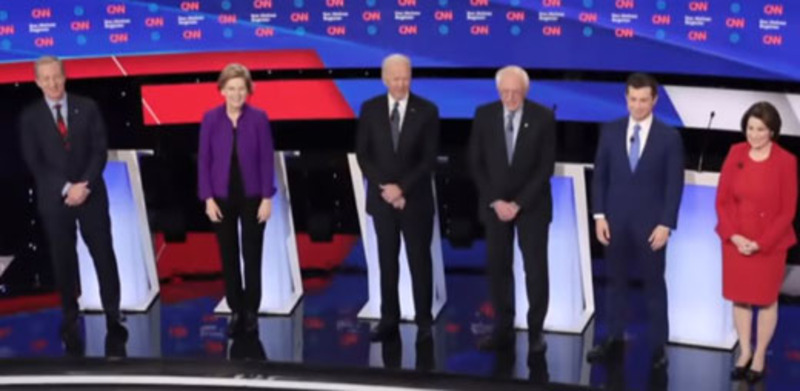 'Blue comfort food': We watched the debate as a public service