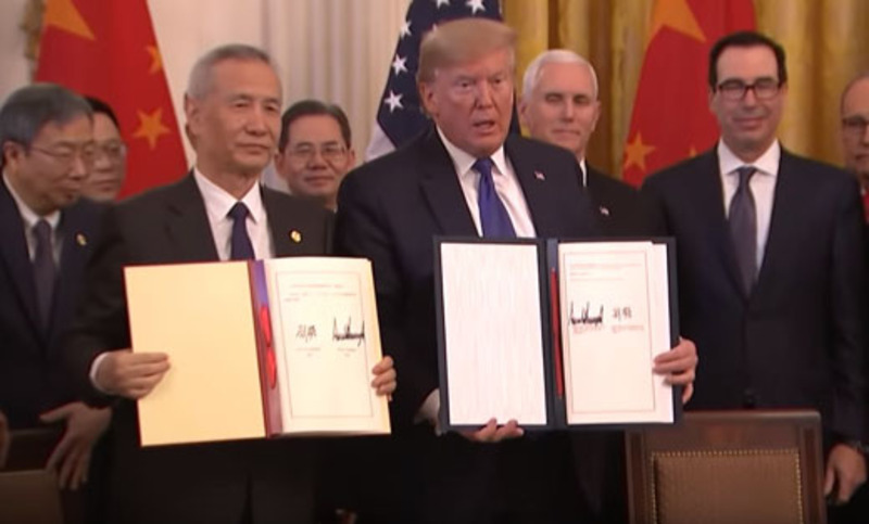'Historic' Jan. 15: Gold impeachment pens or China deal at White House?