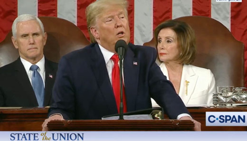State of the Union? Pelosi's 'mumbling' was distraction
