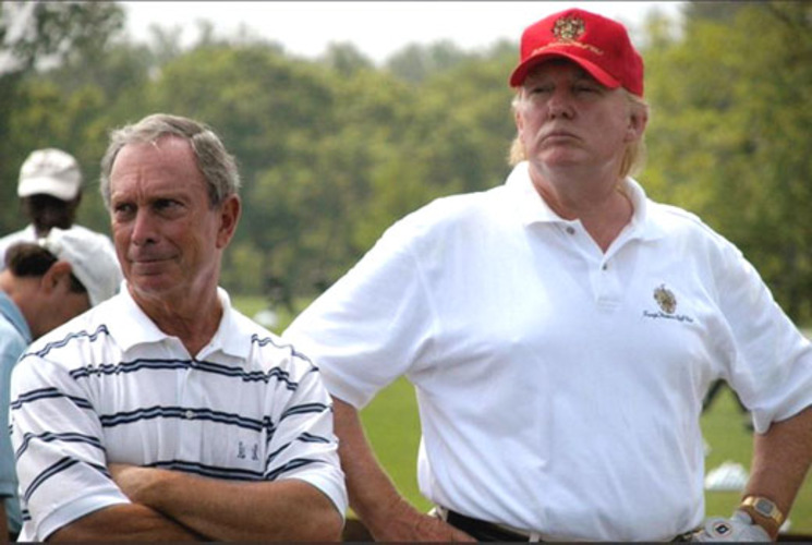 How's Bloomberg's golf game? Trump tweets about 'Mini' Mike