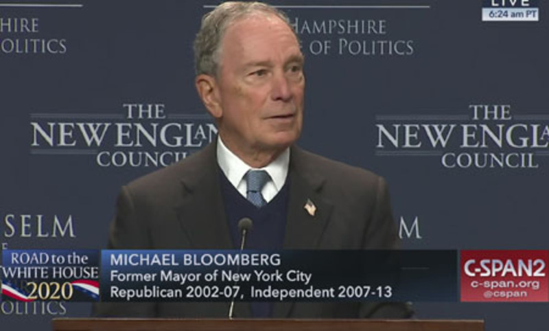 'Pathetic'? Bloomberg  reveals 'fatal political weakness'
