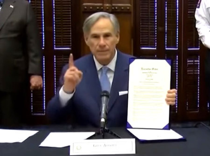 Court  upholds Texas on abortions as nonessential procedures