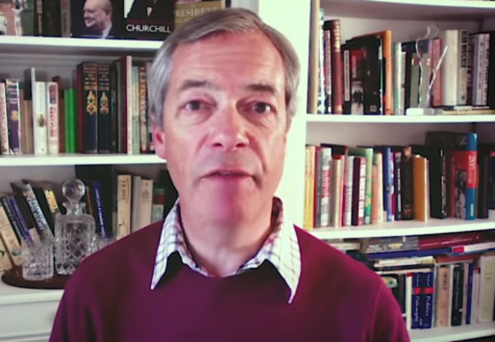Brexit's Farage: If Trump alone confronts China, it will rule world