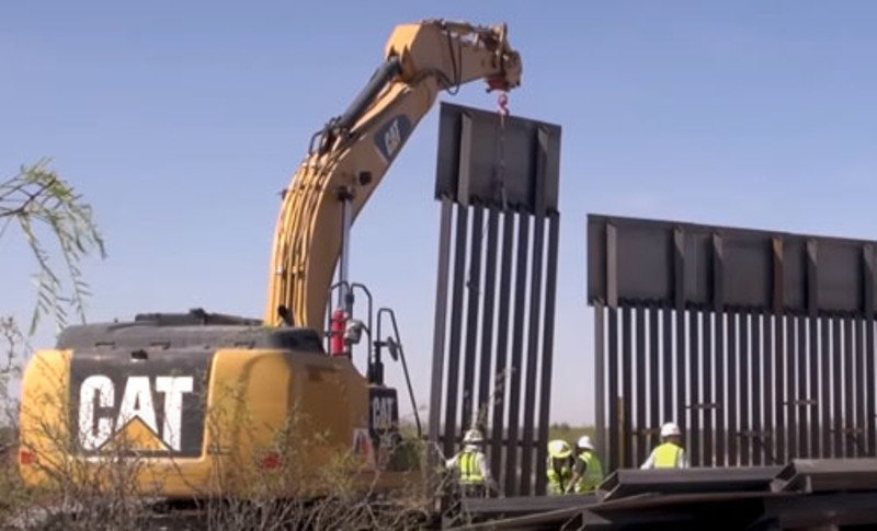 'Promises kept': Border wall cam to stream proof