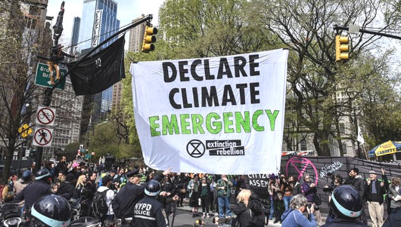 Climate activists inspired: Pandemic called 'real opportunity'