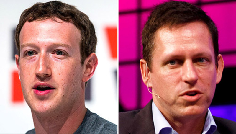 Peter Thiel's star rises at censorious Facebook
