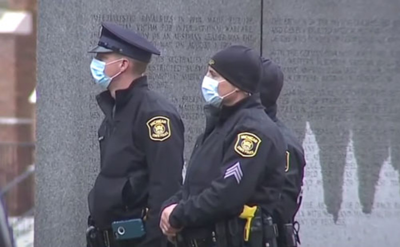 Michigan tracking ' all conversations' of protesters