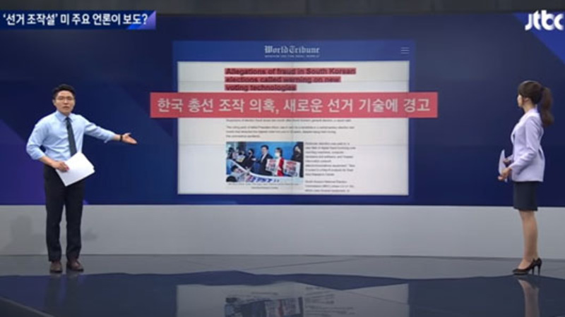 Korean network on defensive after U.S. reports on election fraud