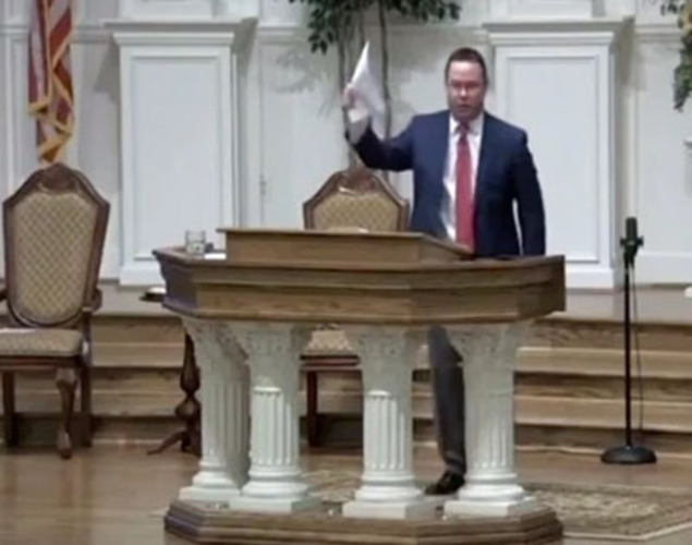 Pastor: 'God tells us how to worship', not state of Maryland