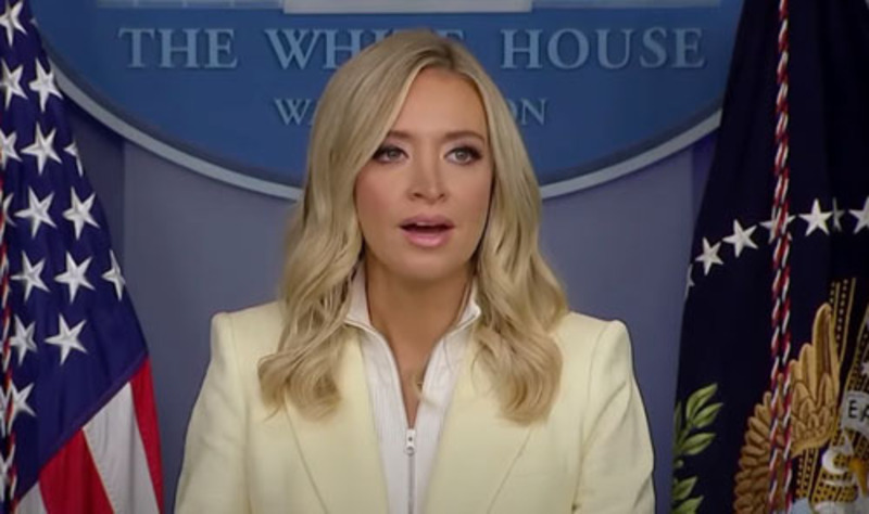 McEnany hits press corps with questions they won't ask