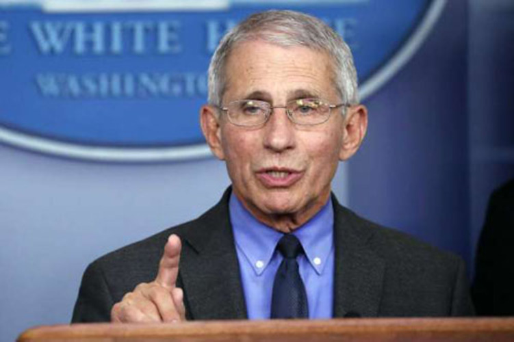Fauci pushes vaccines, waffles on locking down population