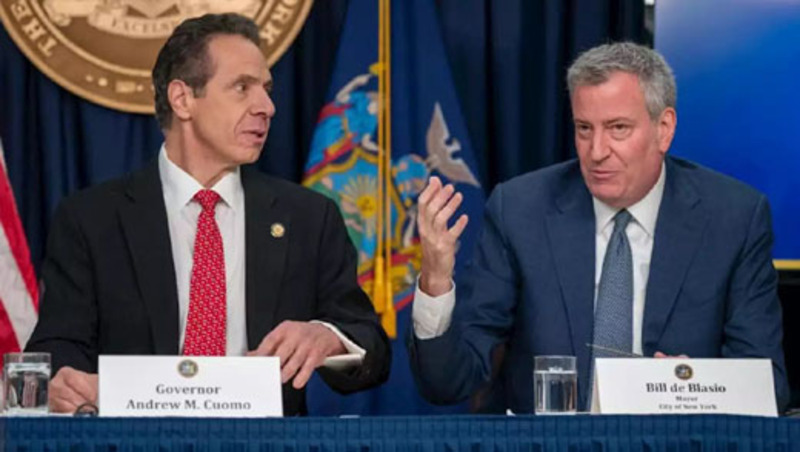 'Death spiral' for NYC, but Jane Pauley gushes over  'happy' Cuomo