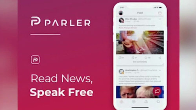 Trump backers switch to Parler as 'techno fascists' ramp up