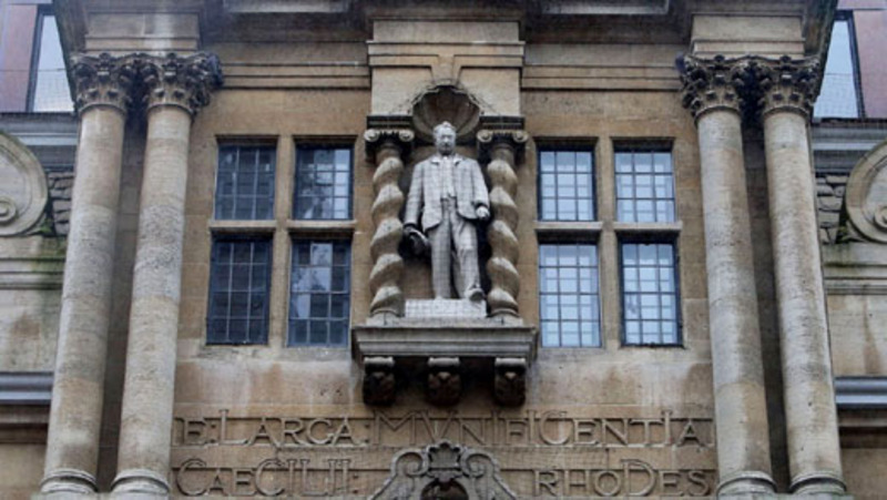 Funder of Clinton's Rhodes scholarship teetering at Oxford
