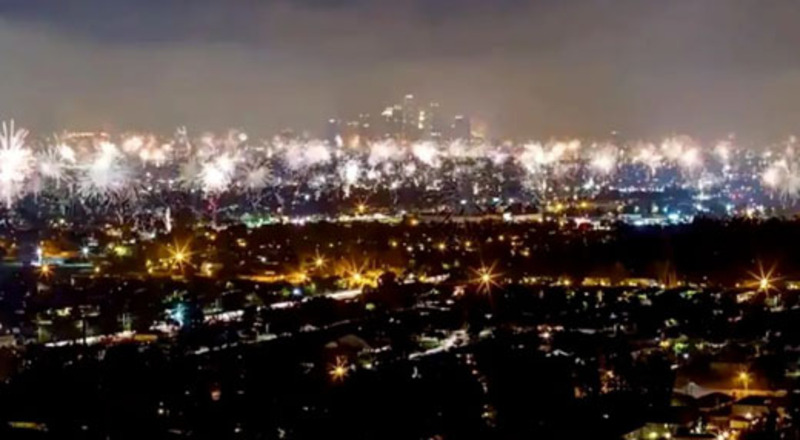 Californians respond to July 4 fireworks ban with . . . fireworks