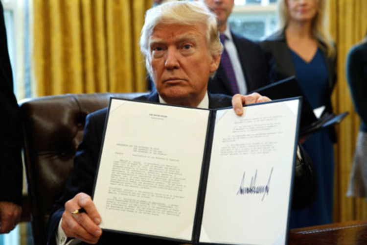 President Trump vows 'exciting executive orders