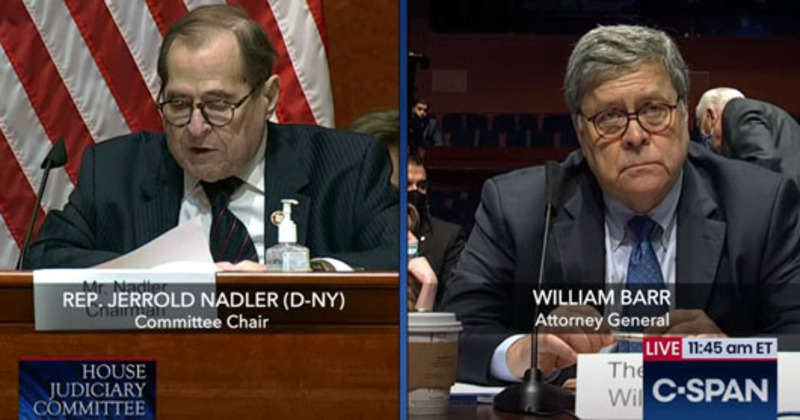 AG Barr keeps his cool in a hearing from hell
