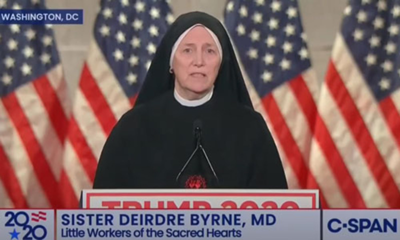 Sister Byrne: Unborn 'largest marginalized group in the world'