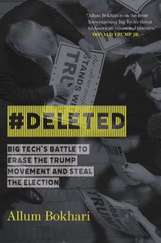 Book: How big tech aims to alter virtual reality, 'steal' election
