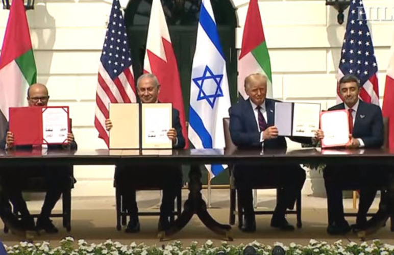 Media ignores Trump's historic Mideast peace deal