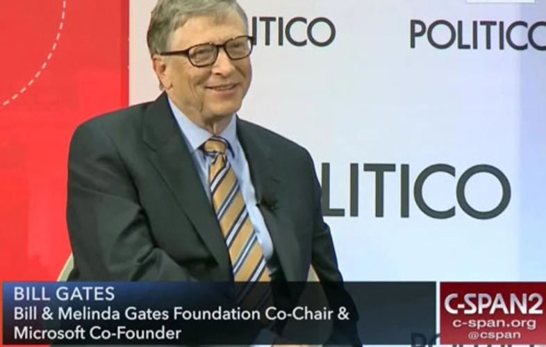 Bill Gates heavily funding radical foreign policy group