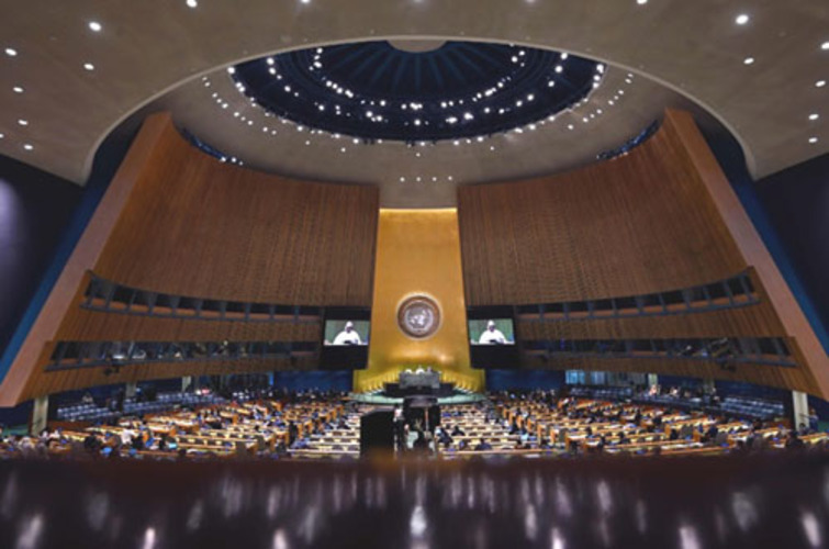 UN General Assembly opens — without live sessions